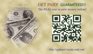 Get Paid! Earn Money Online!